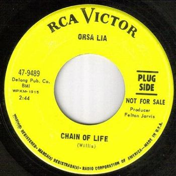 ORSA LIA - CHAIN OF LIFE - RCA dj