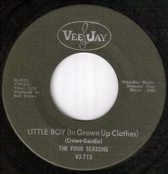 FOUR SEASONS - LITTLE BOY - VEE JAY