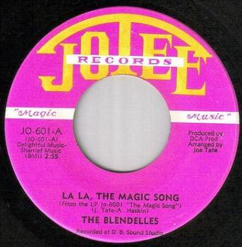 BLENDELLES - LA LA THE MAGIC SONG - JOLEE