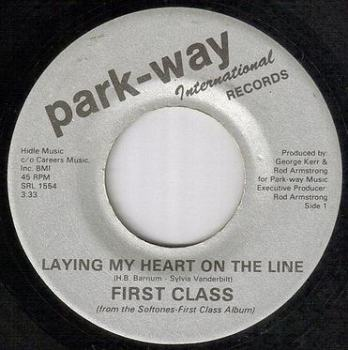 FIRST CLASS - LAYING MY HEART ON THE LINE - PARK WAY