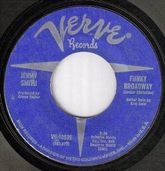 JIMMY SMITH - FUNKY BROADWAY - VERVE