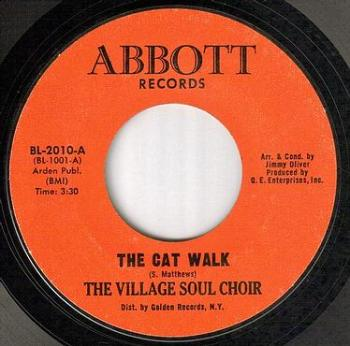 VILLAGE SOUL CHOIR - THE CAT WALK - ABBOTT