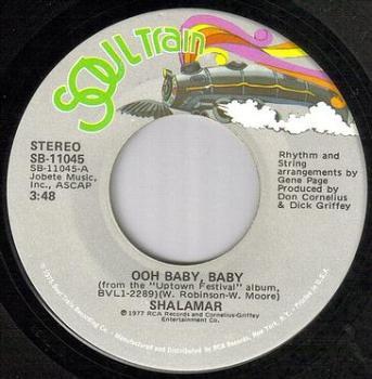 SHALAMAR - OOH BABY BABY - SOULTRAIN