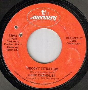 GENE CHANDLER - GROOVY SITUATION - MERCURY