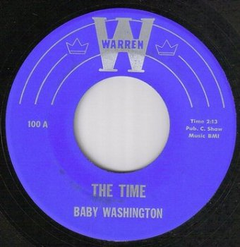 BABY WASHINGTON - THE TIME - WARREN