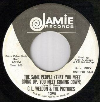 C.L.WELDON & THE PICTURES - THE SAME PEOPLE - JAMIE dj