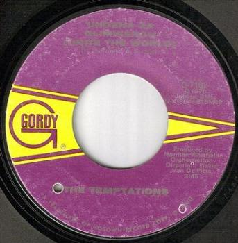 TEMPTATIONS - UNITE THE WORLD - GORDY