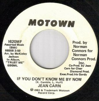 JEAN CARN - IF YOU DON'T KNOW ME BY NOW - MOTOWN dj