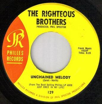 RIGHTEOUS BROTHERS - UNCHAINED MELODY - PHILLES