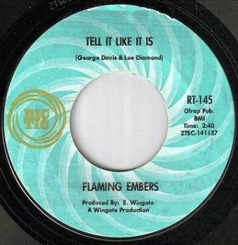 FLAMING EMBERS - TELL IT LIKE IT IS - RIC TIC