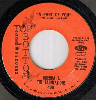 BRENDA & THE TABULATIONS - A PART OF YOU - TOP & BOTTOM