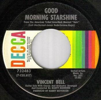 VINCENT BELL - GOOD MORNING STARSHINE - DECCA