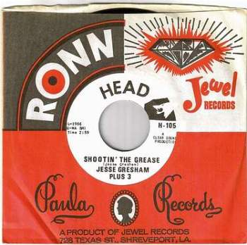JESSE GRESHAM PLUS 3 - SHOOTIN' THE GREASE - HEAD