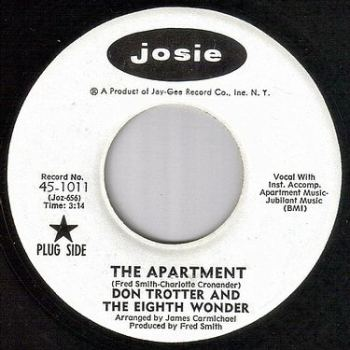 DON TROTTER - THE APARTMENT - JOSIE dj
