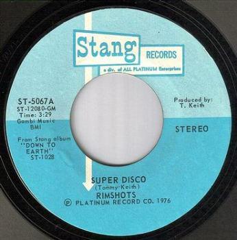 RIMSHOTS - SUPER DISCO - STANG
