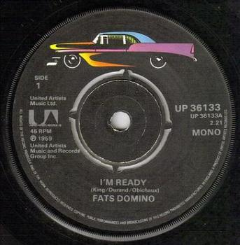FATS DOMINO - I'M READY - UA