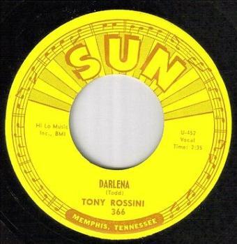 TONY ROSSINI - DARLENA - SUN