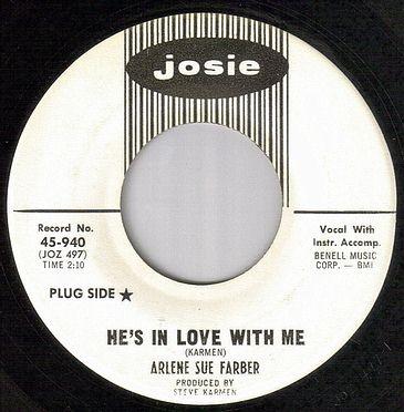 ARLENE SUE FARBER - HE'S IN LOVE WITH ME - JOSIE dj