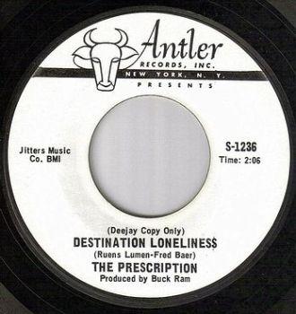 PRESCRIPTION - DESTINATION LONELINESS - ANTLER W/DJ