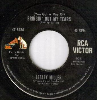 LESLEY MILLER - BRINGIN' OUT MY TEARS - RCA