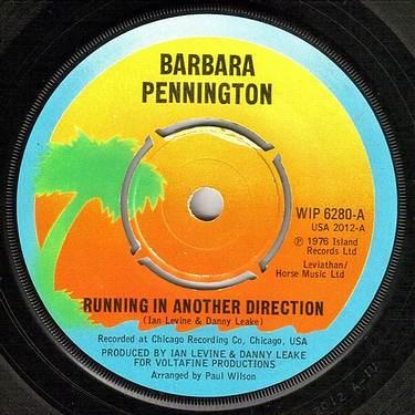 BARBARA PENNINGTON - RUNNING IN ANOTHER DIRECTION - ISLAND