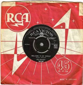 JIM REEVES - WELCOME TO MY WORLD - RCA