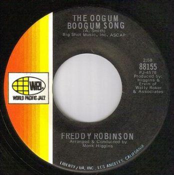 FREDDY ROBINSON - THE OOGUM BOOGUM SONG - WORLD PACIFIC