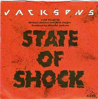 JACKSONS - STATE OF SHOCK - EPIC