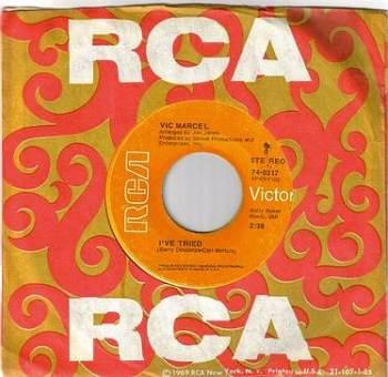 VIC MARCEL - I'VE TRIED - RCA
