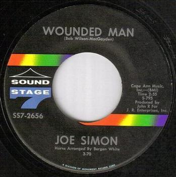 JOE SIMON - WOUNDED MAN - SS7