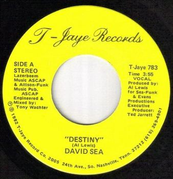DAVID SEA - DESTINY - T JAYE