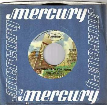 WILLIAM BELL - COMING BACK FOR MORE - MERCURY