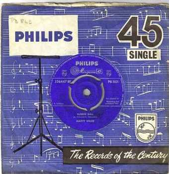 MARTY WILDE - RUBBER BALL - PHILIPS