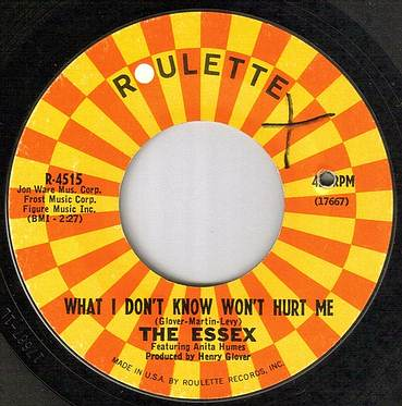 ESSEX - WHAT I DON'T KNOW WON'T HURT ME - ROULETTE