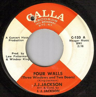 J.J. JACKSON - FOUR WALLS - CALLA