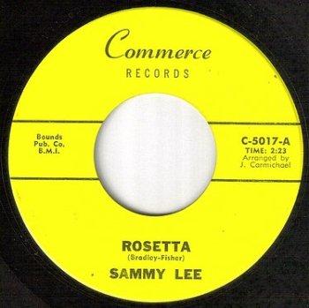 SAMMY LEE - ROSETTA - COMMERCE