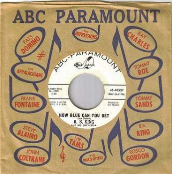 B.B. KING - HOW BLUE CAN YOU GET - ABC dj