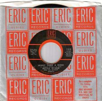 MITCH RYDER - JENNY TAKE A RIDE - ERIC