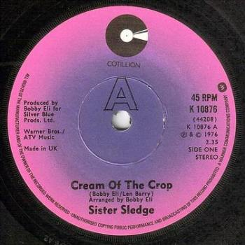 SISTER SLEDGE - CREAM OF THE CROP - COTILLION