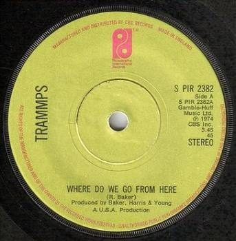 TRAMMPS - WHERE DO WE GO FROM HERE - PIR