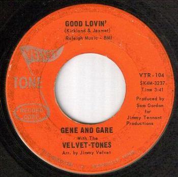 GENE & GARE - GOOD LOVIN' - VELVET TONE