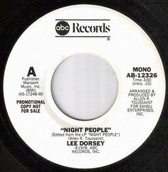 LEE DORSEY - NIGHT PEOPLE - ABC dj