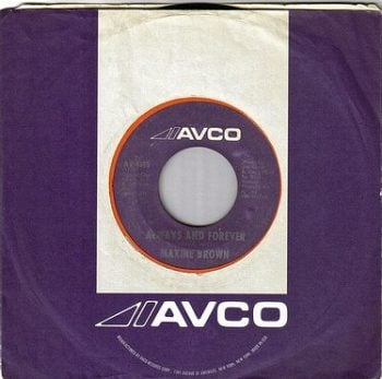 MAXINE BROWN - ALWAYS AND FOREVER - AVCO