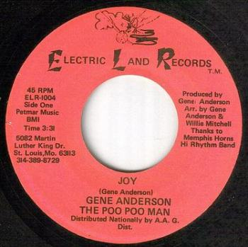 GENE ANDERSON - JOY - ELECTRIC LAND