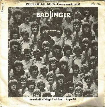BADFINGER - COME AND GET IT - APPLE 20