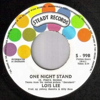 LOIS LEE - ONE NIGHT STAND - STEADY