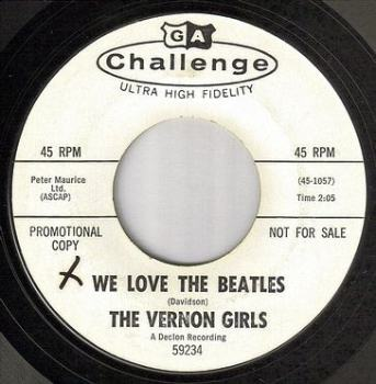 VERNON GIRLS - WE LOVE THE BEATLES - CHALLENGE PROMO Copy