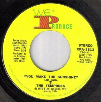 TEMPREES - YOU MAKE THE SUNSHINE - WE PRODUCE