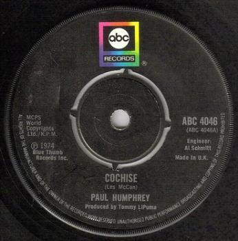 PAUL HUMPHREY - COCHISE - ABC