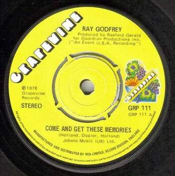 RAY GODFREY - COME AND GET THESE MEMORIES - GRAPEVINE